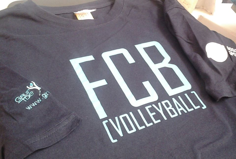 Camiseta Volleyball FCB